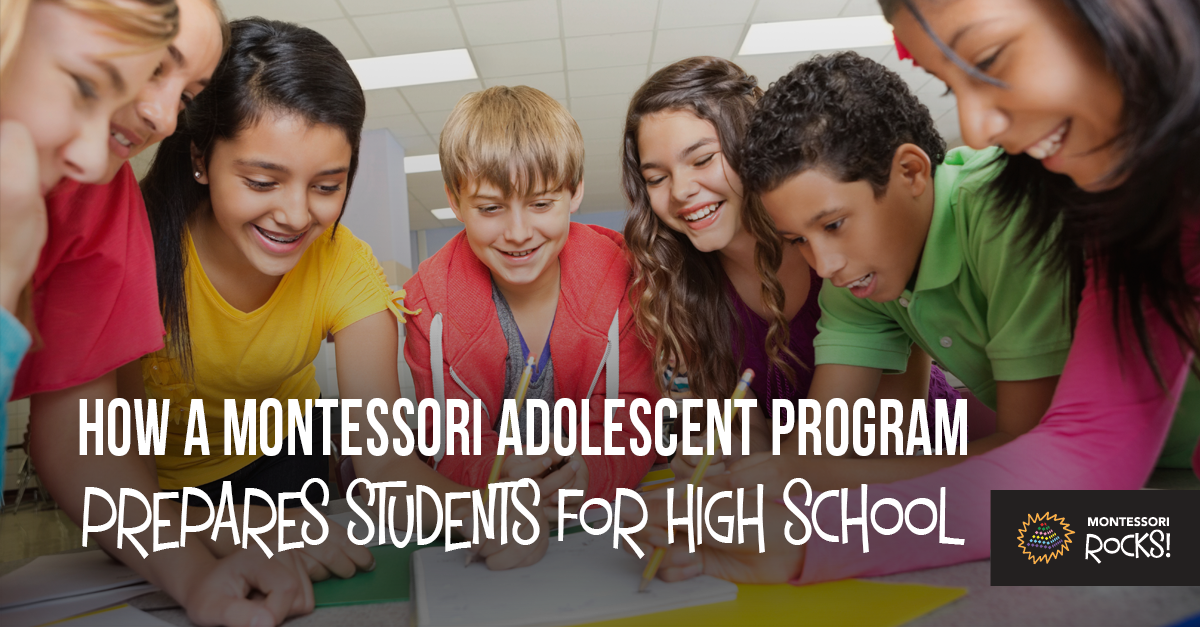 """How a Montessori Adolescent Program Prepares Students for High School"""