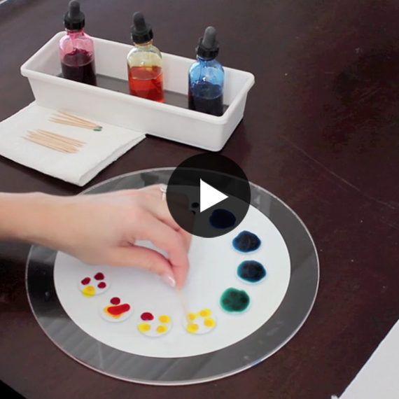 Montessori How-To: Color Mixing Wheel