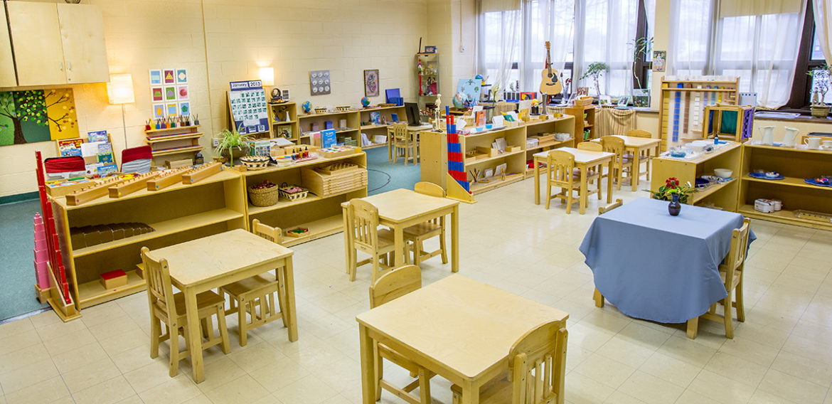 Behind the Scenes: Montessori Pre-Primary Classroom