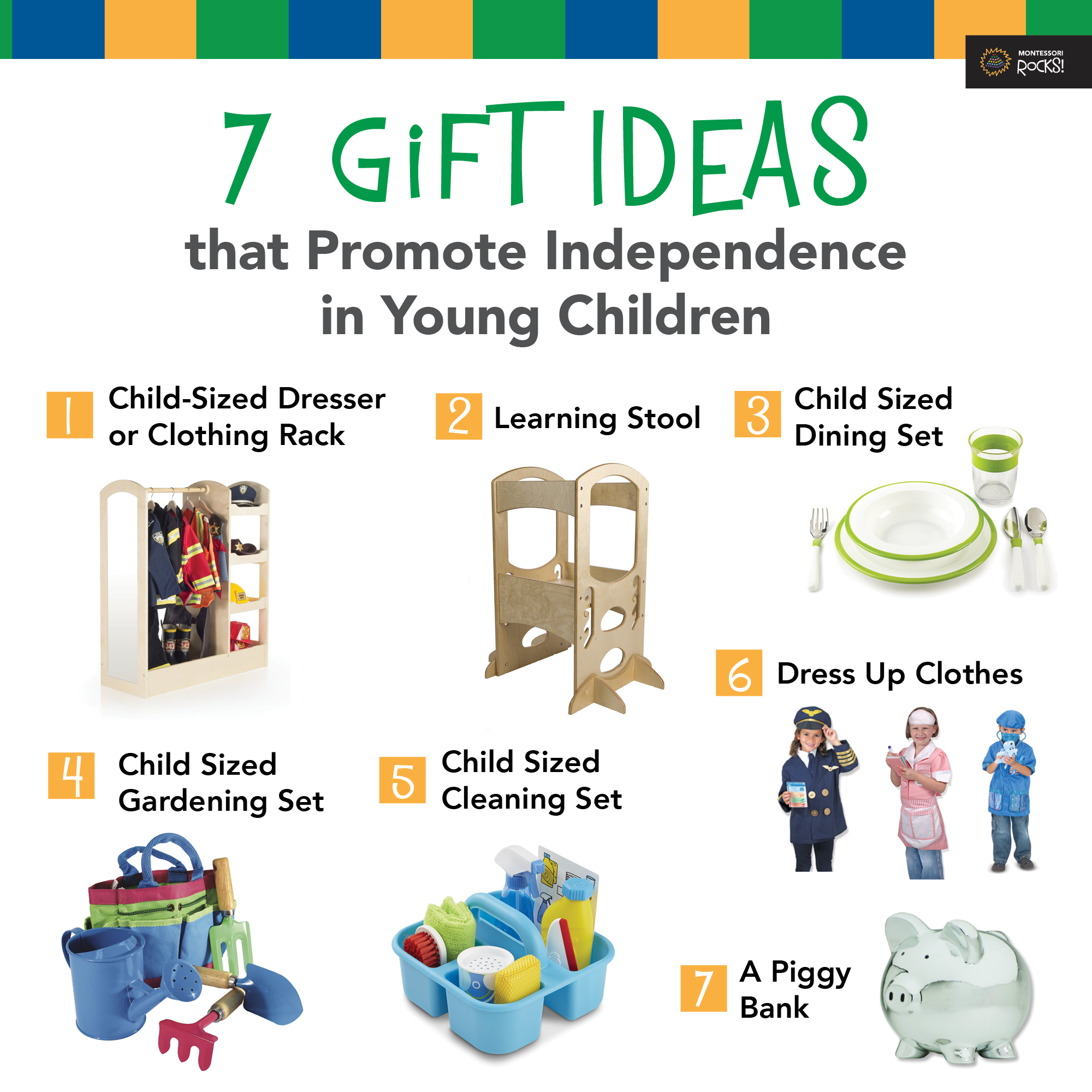 Gift Giving that Promotes Independence in Montessori and ALL