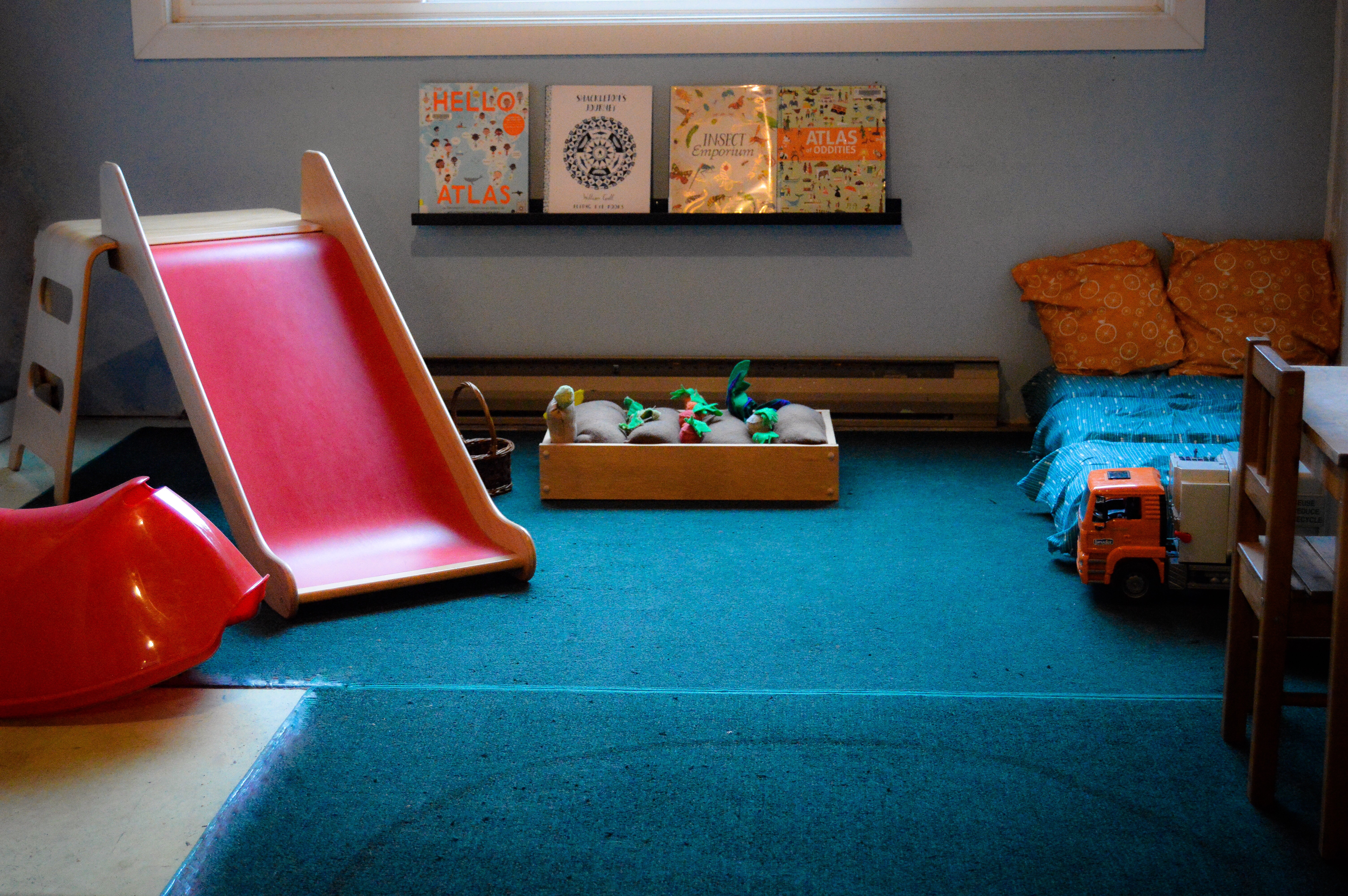 First floor play area