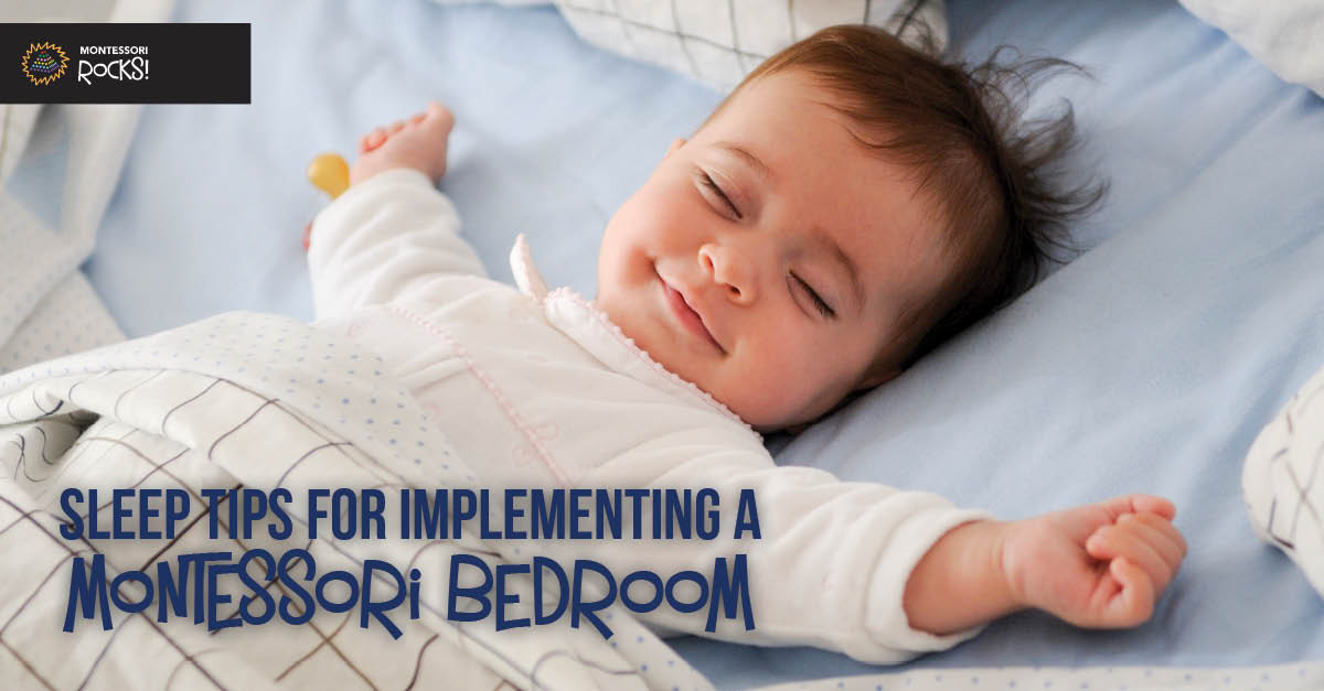 Sleep tips for implementing a Montessori Bedroom