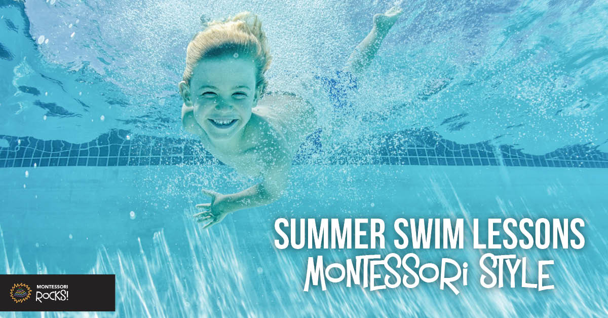 Summer Swim Lessons Montessori Style