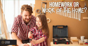 Homework or work of the home?