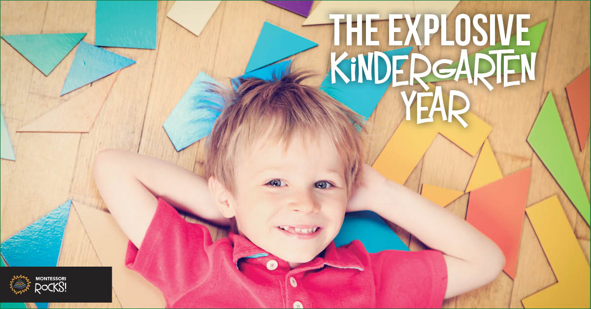 The explosive kindergarten year