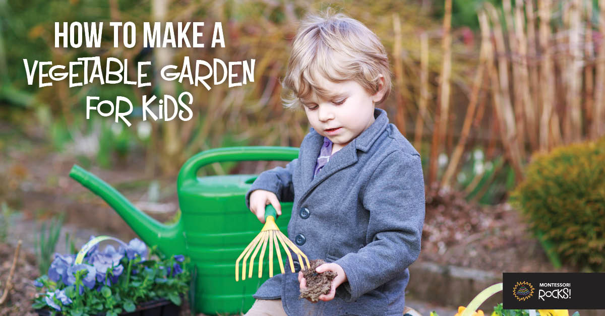 How to Make a Vegetable Garden for Kids