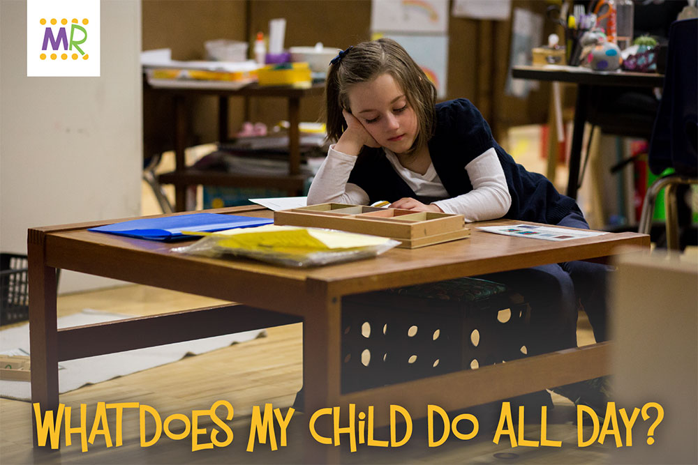 What Does My Child Do All Day? - child sitting at desk in class with head tilted