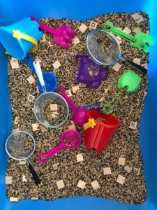 sandbox tools and toys